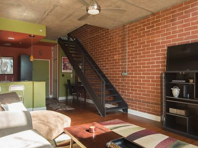 Photo for Colorful Downtown Loft by Rabbu - One Bedroom Apartment, Sleeps 4