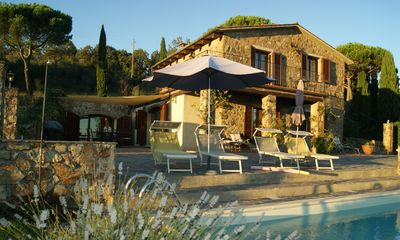 Photo for Dream Pool, near Siena sea views, 9 people, romantically & culinary close