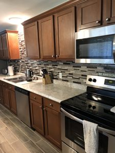 All stainless steal appliances