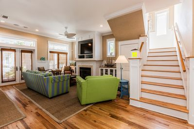 Living Area - A stylish open floor plan encourages conversation and is great for groups.