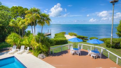 Photo for Spectacular Panoramic Sunsets in Islamorada Bayfront Villa!!! Licensed-#VR-171