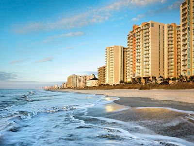 Photo for Myrtle Beach, SC: 2 BDRM Beachfront High-Rise Resort w/Pool  Beach
