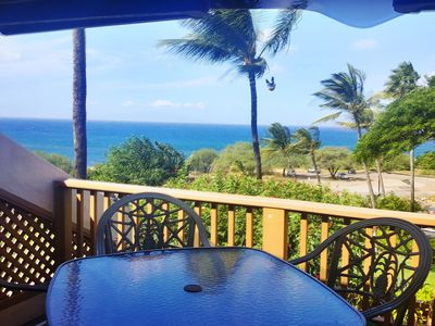 Photo for Maui Kamaole #A-207 OCEAN VIEW 2BD/2BA beautifully renovated in FRONT ROW!