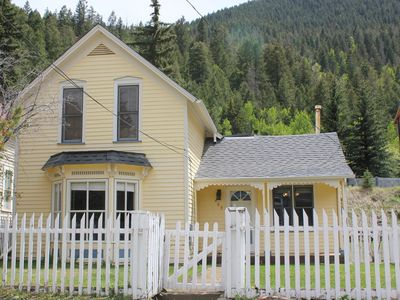 Adorable 1870 Victorian located just below Guanella Pass.
