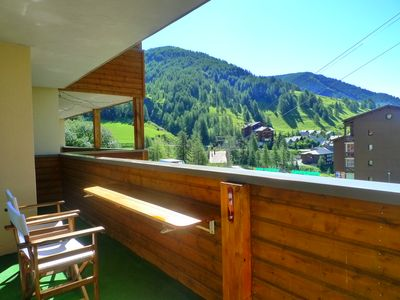 Photo for 3 rooms 68 m2 Top Standing, terrace expo South Swimming pool at the foot of the chairlift