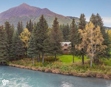 Photo for The River House - Private 1.6 acre Upper Kenai Riverfront Home - Cooper Landing