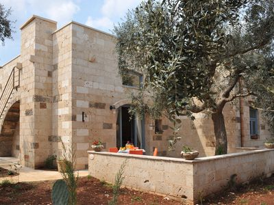 Photo for Holiday apartment in an olive grove