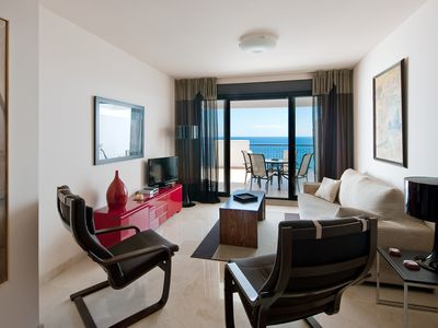 Photo for Unique Seaview Apartment situated front of the Mediterranean Sea, Torrox Coast