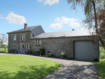 Photo for Cushy Holiday Home in La Roche en Ardenne with Fenced Garden