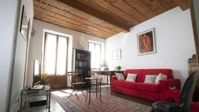 Photo for Spacious and charming apartment in the heart of Florence
