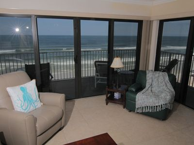 Photo for Pelican Path, Relaxing Beachfront Condo, 6th Floor Views, No-Drive Beach!