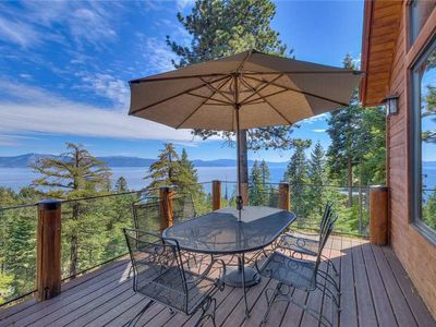Photo for Tahoe's Ahwahnee - Lakeview: 5 BR / 4.5 BA five bedrooms in Carnelian Bay, Sleeps 12