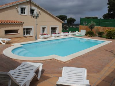 Photo for House for 14 people with private pool. Near Lloret de Mar y Blanes beach
