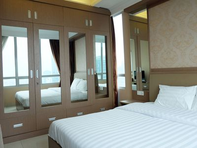 Photo for 1BR / 2+1BR Denpasar Residence Luxury Apartment At Kuningan City By Travelio