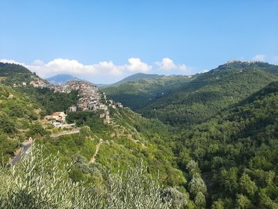 Photo for Holiday home in the heart of the village, with a balcony with an enchanting view of the greenery