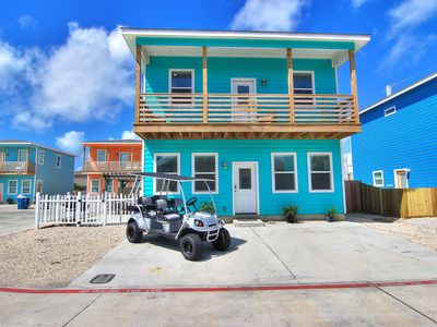 Photo for Awave From it All: POOL, *FREE GOLF CART, Close to Beach, Pergola, Pets