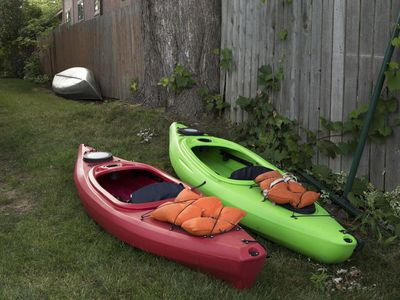 Photo for Fairytale Cottage On Lake Oakland, Kayaks, Canoe, Rowboat, Huge Deck, Fire Pit