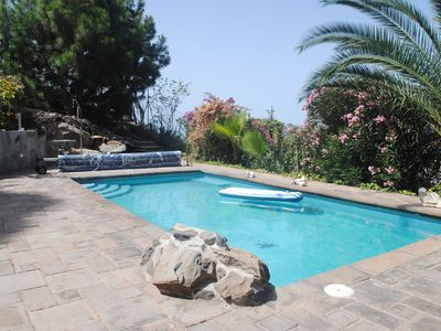 Photo for Rustic house with heated pool in Vera de Eques Sur de Tenerife for 2