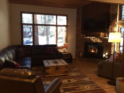 Photo for REMODELED 2 BR + LOFT / 2.25 BA (Sleeps 8) in Mammoth Lakes - Woodlands Complex