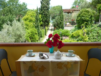 Photo for Peaceful farmhouse close to Tuscany 's best treasures only 1mile from shops far