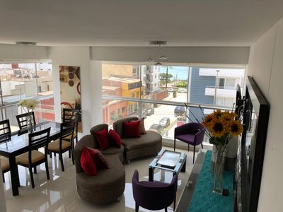 Photo for new Apartment in Ocean view  close to Miraflores     in Magdalena del Mar