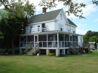 Farm House with screened in porch