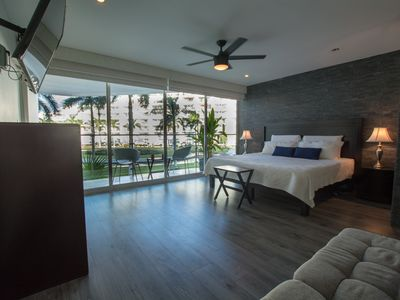 Photo for 3 Level Loft- Modern Renovation -Beach -Ocean View - Steps to the Private Beach