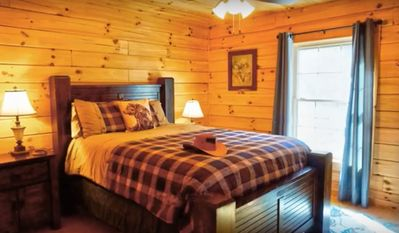 Photo for Cozy Cabin, High Elevation, Fresh Air, And Views!!