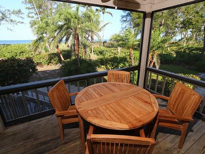 Photo for Gulf Front, Two Bedroom, Condo with Loft! South Seas Beach Cottage 1411