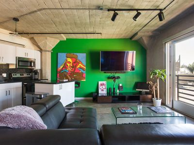 Photo for Hollywood Loft~Alexa Intergrated~360 Rooftop View