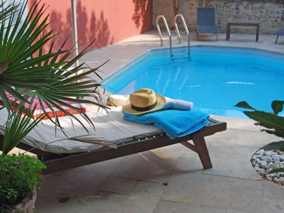 Photo for House St Remy private pool, Home cinema, nice garden