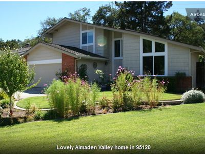 Photo for Beautiful 4 Bedroom, 3 Bath Home, Nicest Part Of San Jose