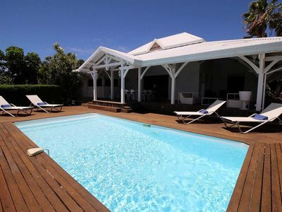 Photo for Villa Yucca 3 bedrooms Pool sea view 5 minutes from the beach Pierre et Vacances