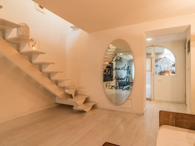 Photo for Luxury 350 Sq Mt flat with Terrace central Trieste