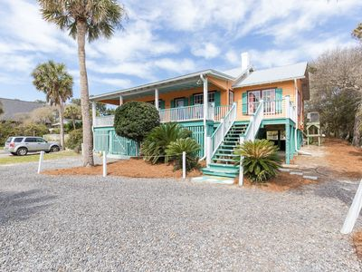 Neptune's Folly - Awesome 2nd Row Beach Home - Ocean View - Dog Friendly!