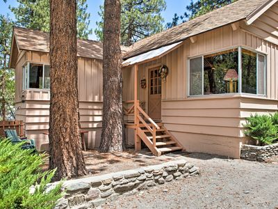 Photo for 'Rustic Acorn' Wrightwood Cabin w/Deck, Walk to DT
