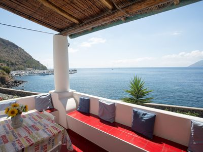 Photo for 2BR Apartment Vacation Rental in Lipari, Sicilia