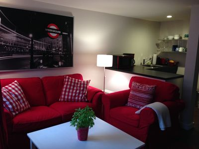 Photo for Newly Renovated Large Studio Near RPI and Sage Colleges. Walk to Downtown Troy