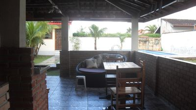 Photo for Great house gated community, pool, barbecue and beach clean
