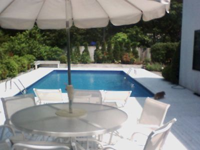 Photo for 2 Bedrooms, 2 bathrooms,  East Hampton Contemporary -  Walk to Bay Beaches