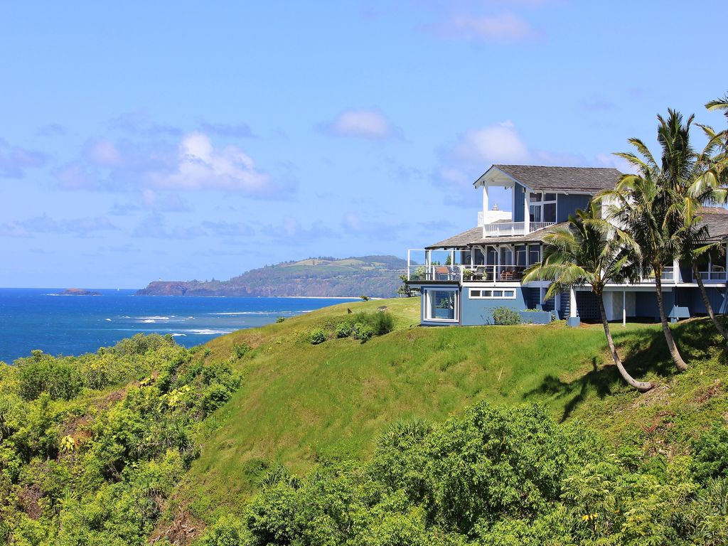 Best Oceanfront And Coastline View In Kauai Princeville