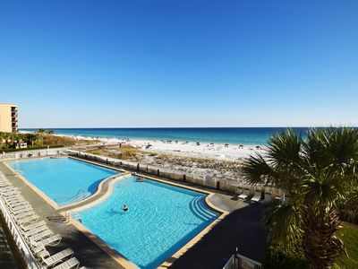 Photo for Luxury Condo, Amazing Direct Ocean View, Platinum Upgrades, Beach Service  we306