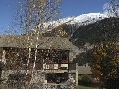 Photo for In chalet, independent family apartment in duplex, on 2000m2 wooded.