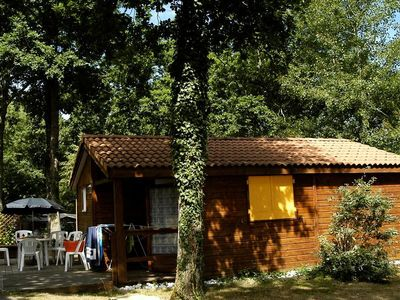Photo for Camping Le Patisseau **** - Chalet 3 Rooms 5 People
