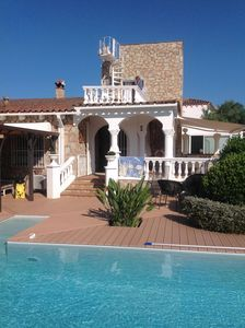 Photo for SUPERB CHARMING VILLA WITH MAGNIFICENT SWIMMING POOL EDGE OF CANAL EMPURIABRAVA