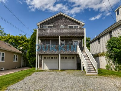 Photo for Spacious Two Level Property, Central Air Conditioning, Short Walk to Beach, Two Decks