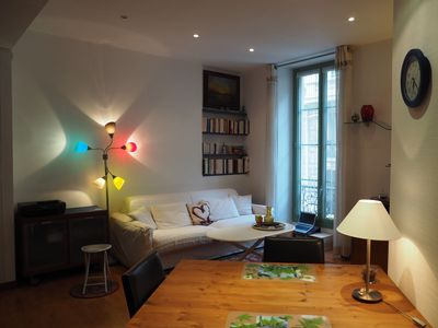 Photo for Charming apartment in central Nice