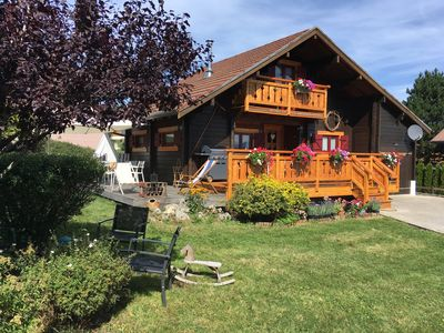 Photo for Beautiful chalet in the mountains up to 10 people 20 minutes TGV station.