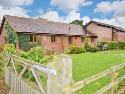 Photo for CASTLE CLOVER - 1 bedroom pet friendly barn conversion a perfect rural hideaway