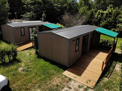 Photo for Camping des bondons * - 4-room cottage 4/6 people